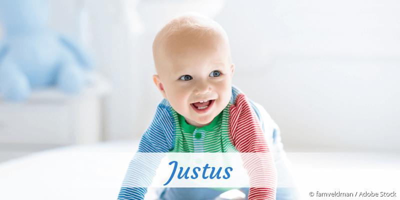 Name Justus als Bild