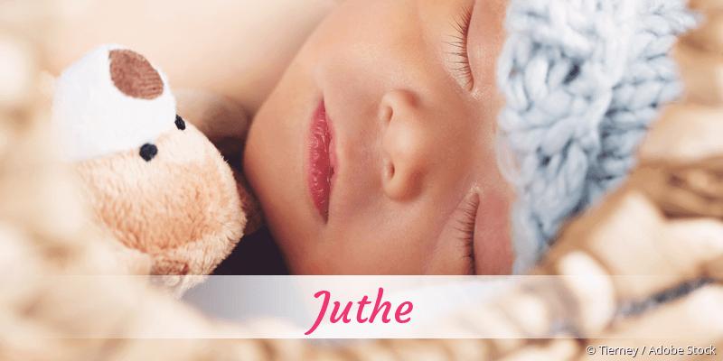 Name Juthe als Bild