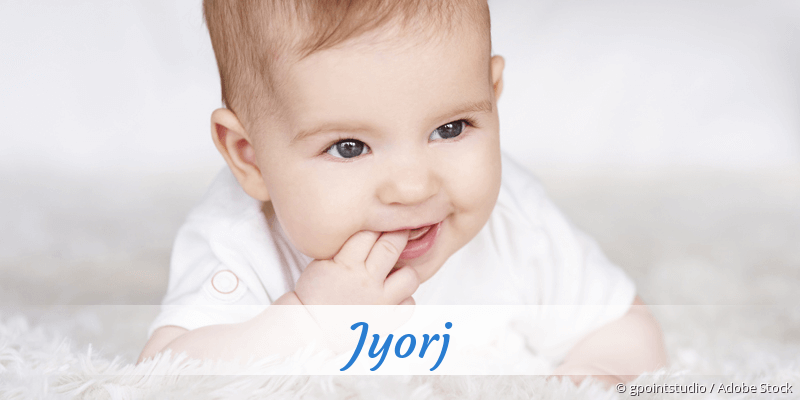 Name Jyorj als Bild
