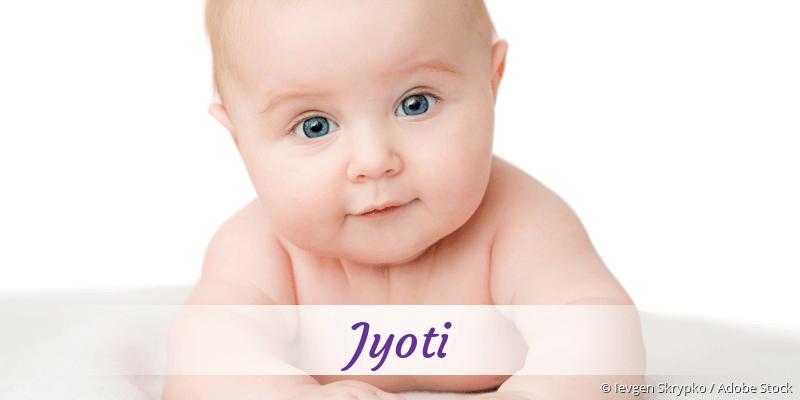 Name Jyoti als Bild