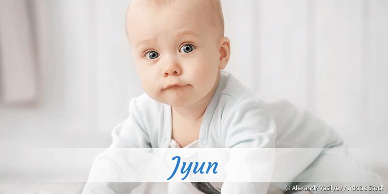 Name Jyun als Bild