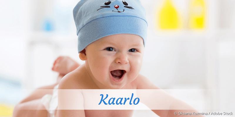 Name Kaarlo als Bild