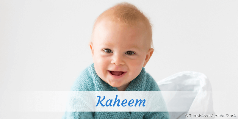 Name Kaheem als Bild