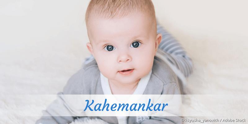 Name Kahemankar als Bild
