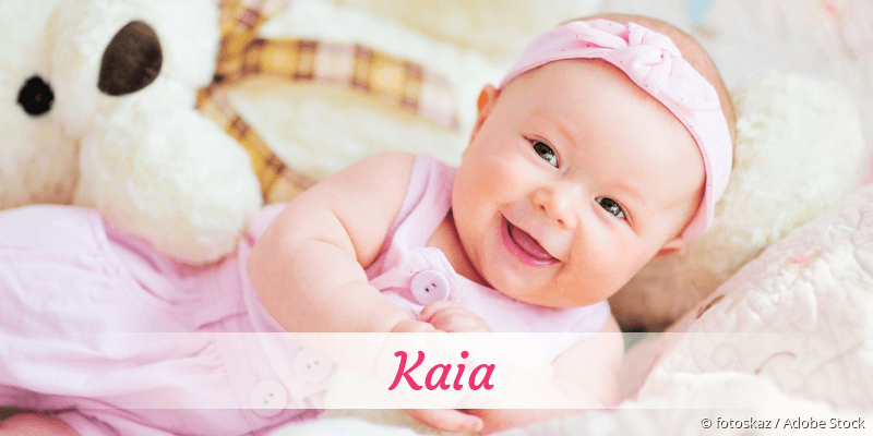 Name Kaia als Bild