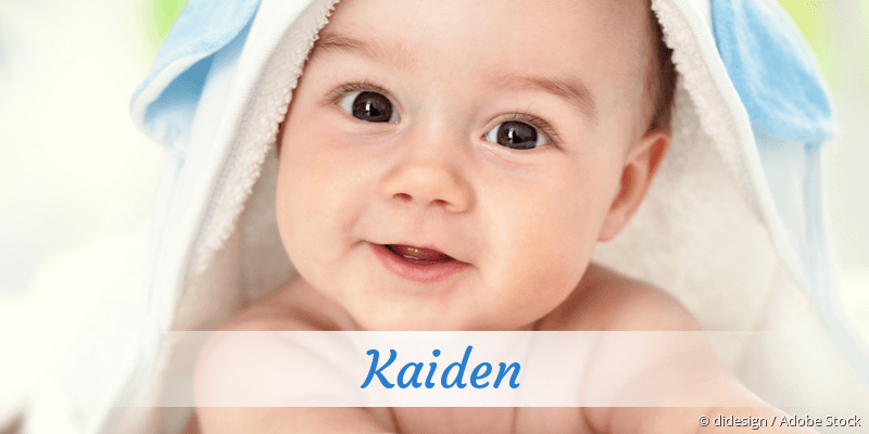 Name Kaiden als Bild