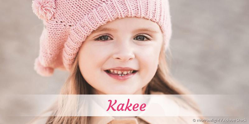 Name Kakee als Bild