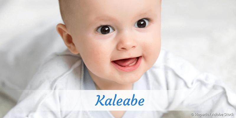 Name Kaleabe als Bild