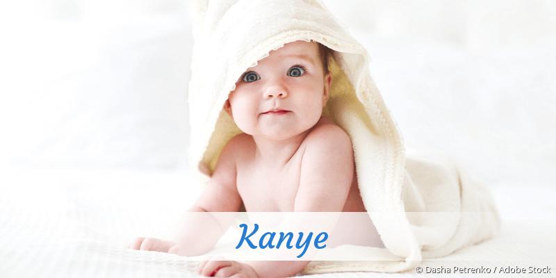 Name Kanye als Bild