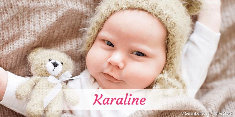 Name Karaline als Bild
