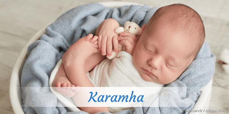 Name Karamha als Bild