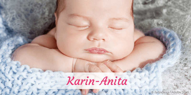 Name Karin-Anita als Bild