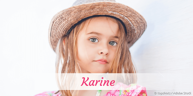Name Karine als Bild