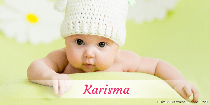 Name Karisma als Bild