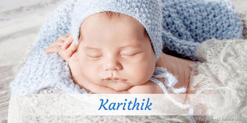 Name Karithik als Bild