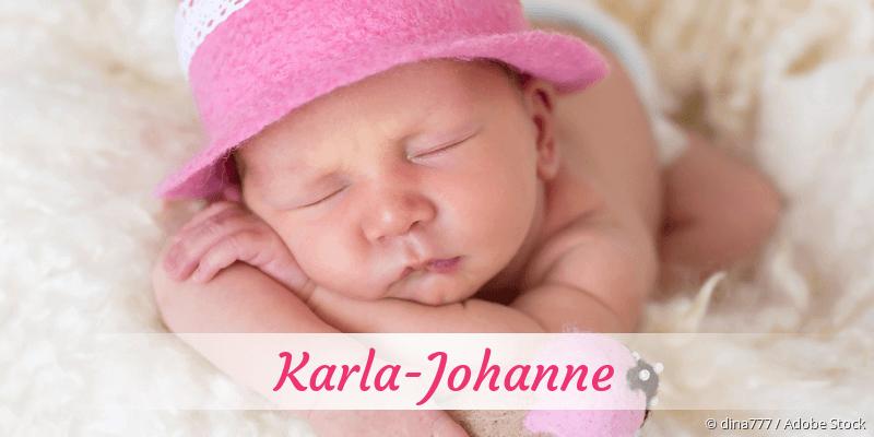 Name Karla-Johanne als Bild