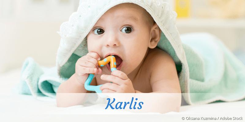 Name Karlis als Bild