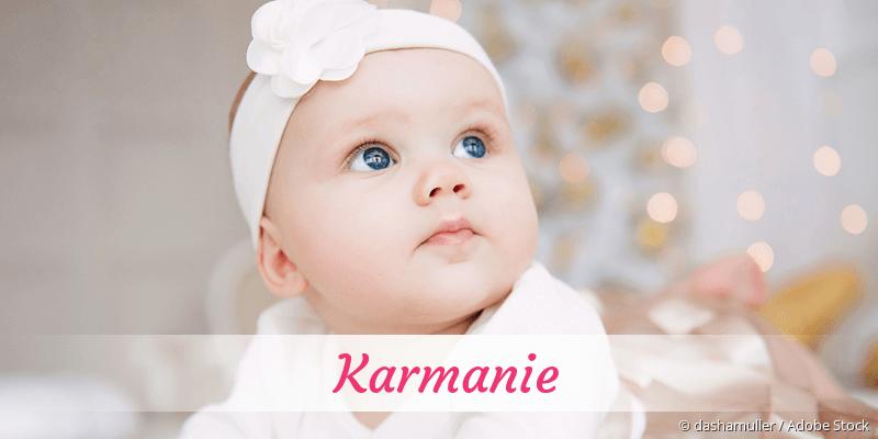 Name Karmanie als Bild