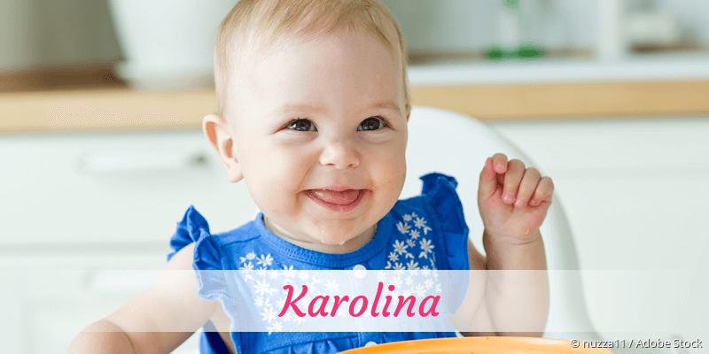 Name Karolina als Bild