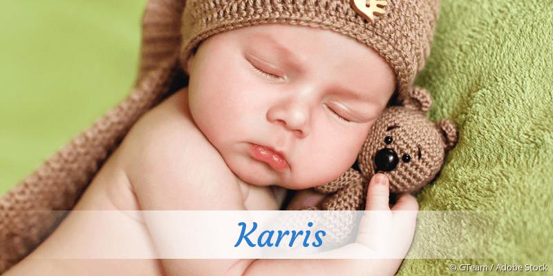 Name Karris als Bild