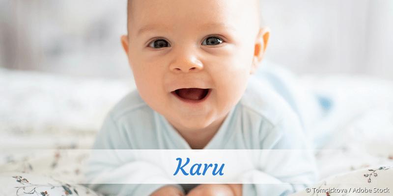 Name Karu als Bild