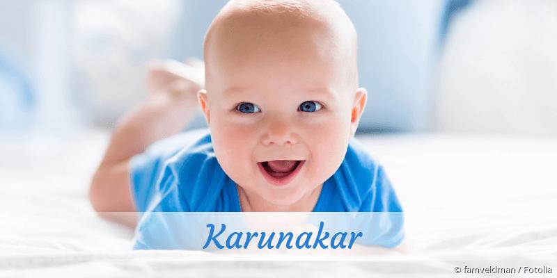 Name Karunakar als Bild