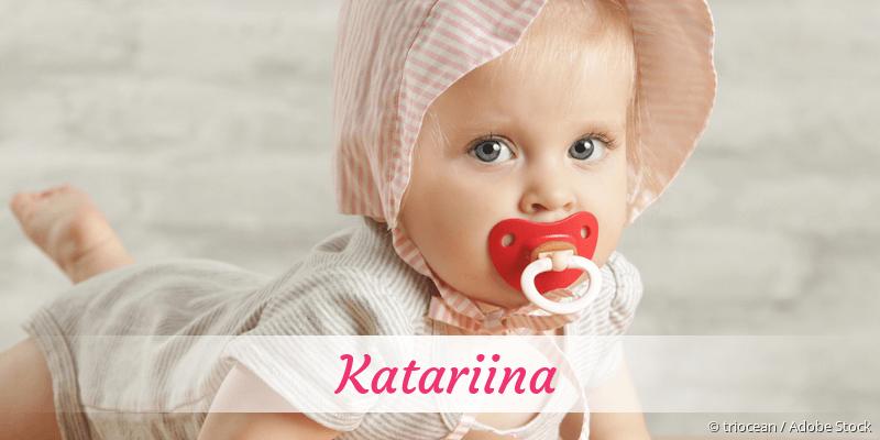 Name Katariina als Bild