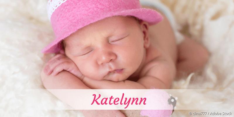 Name Katelynn als Bild