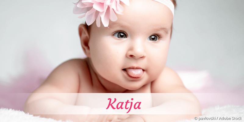 Name Katja als Bild