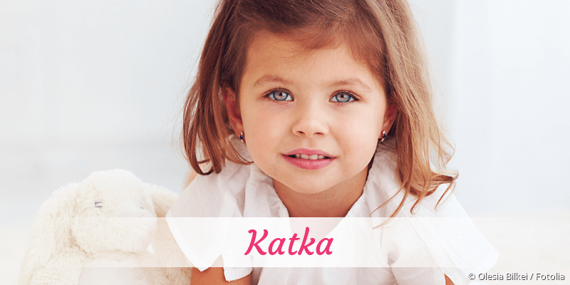 Name Katka als Bild