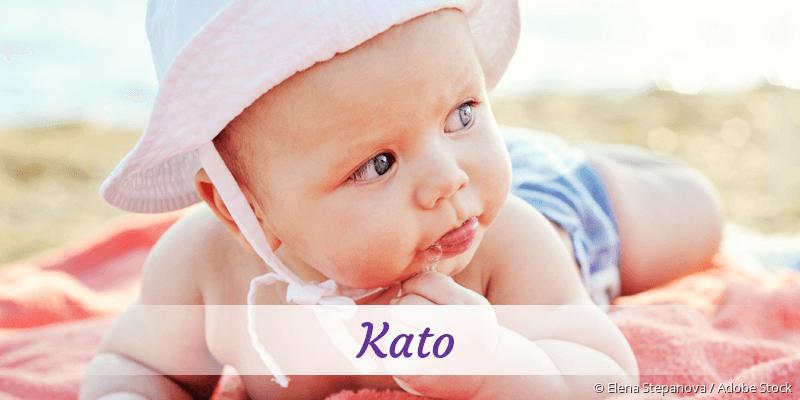 Name Kato als Bild