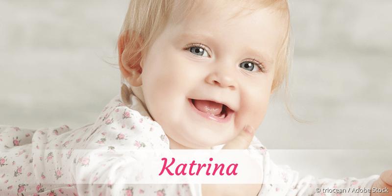 Name Katrina als Bild