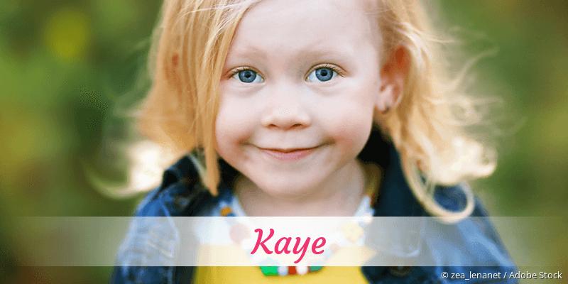 Name Kaye als Bild