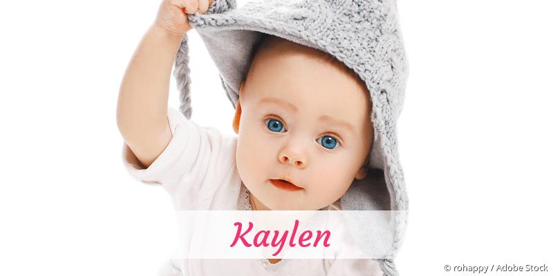 Name Kaylen als Bild