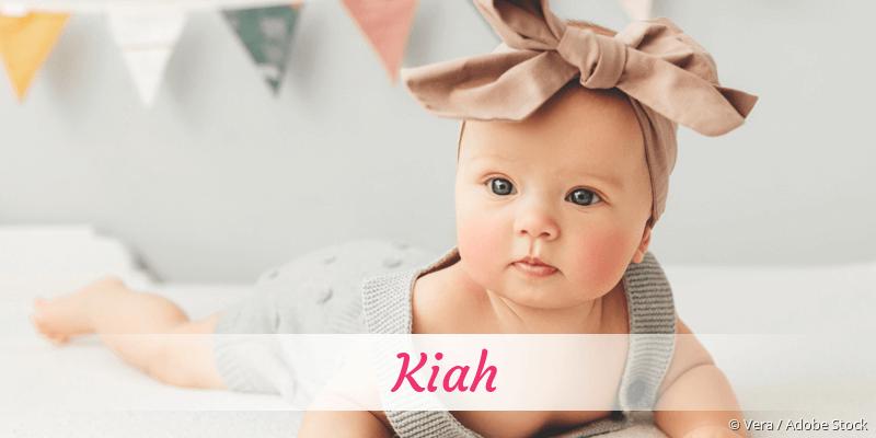 Name Kiah als Bild