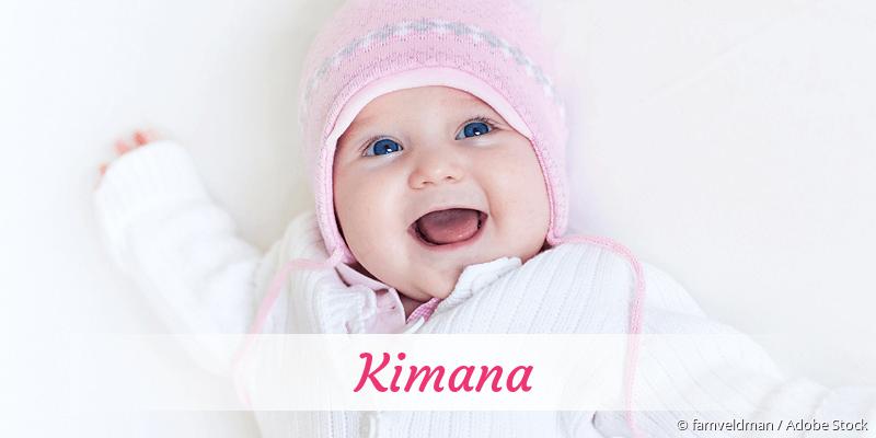 Name Kimana als Bild