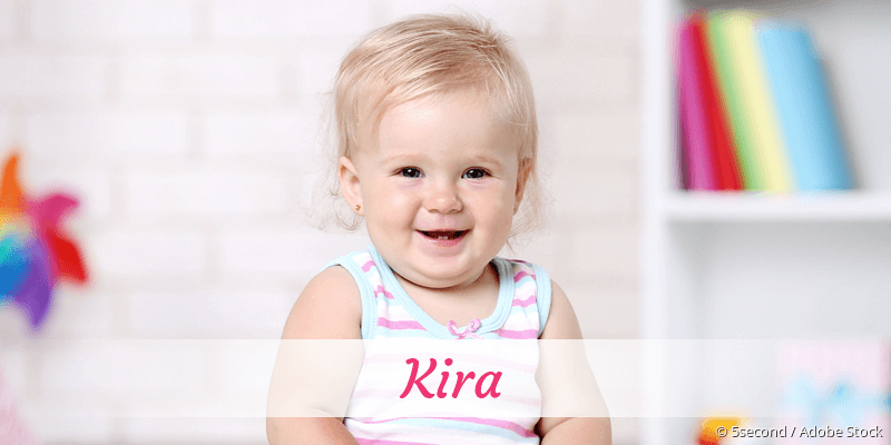 Name Kira als Bild