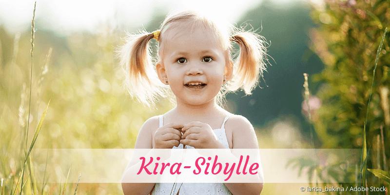 Name Kira-Sibylle als Bild