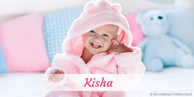 Name Kisha als Bild