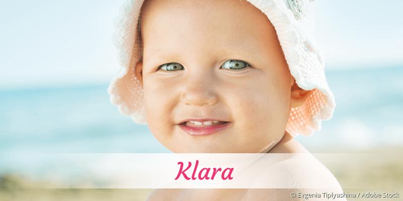 Name Klara als Bild