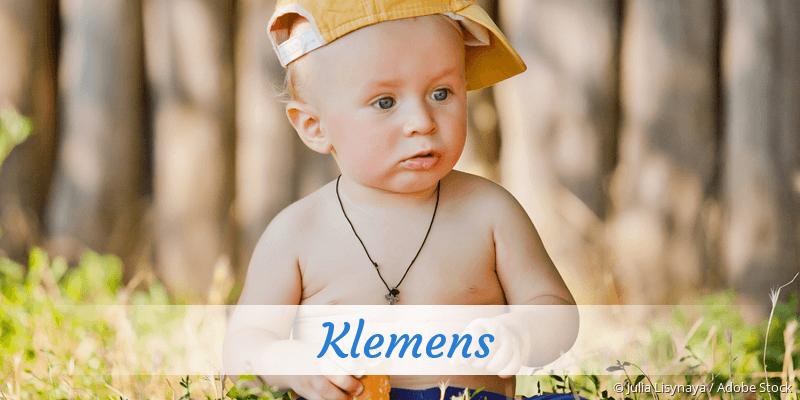 Name Klemens als Bild