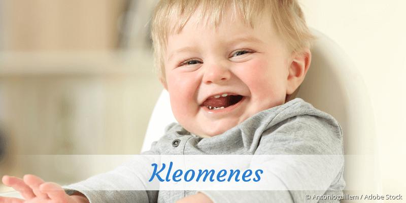 Name Kleomenes als Bild