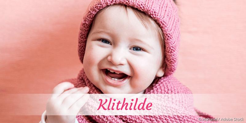 Name Klithilde als Bild