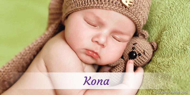 Name Kona als Bild
