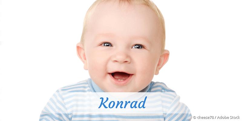 Name Konrad als Bild