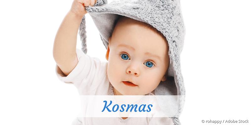 Name Kosmas als Bild