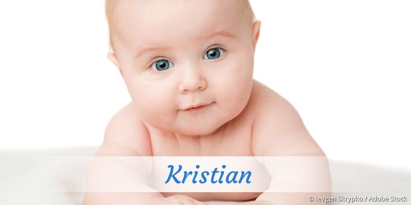 Name Kristian als Bild