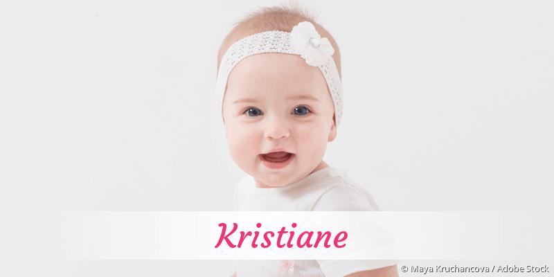 Name Kristiane als Bild