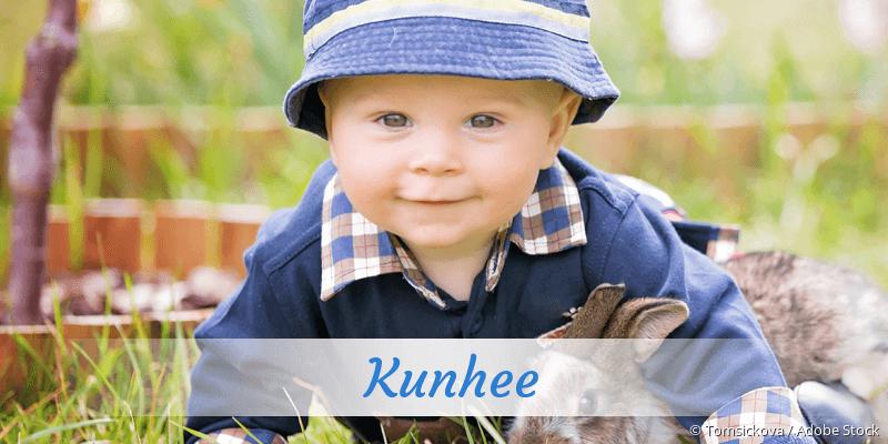 Name Kunhee als Bild