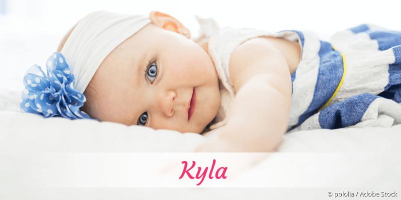 Name Kyla als Bild